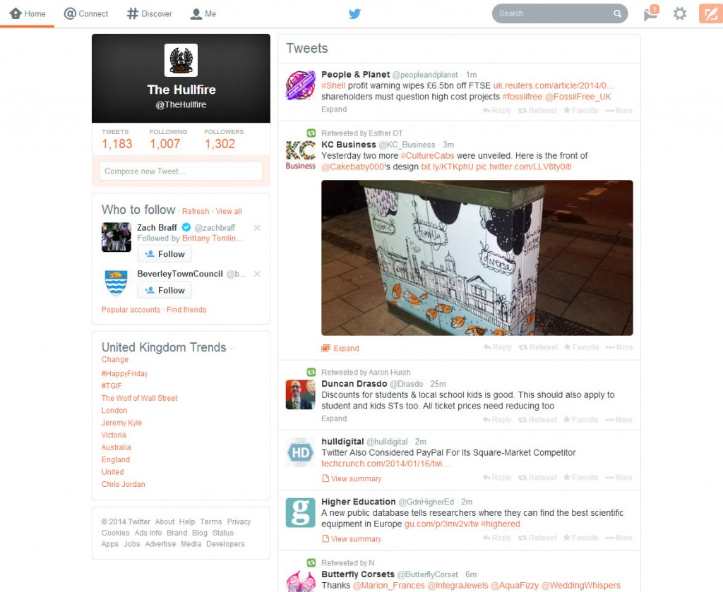 What does everyone think to the new Twitter UI design?