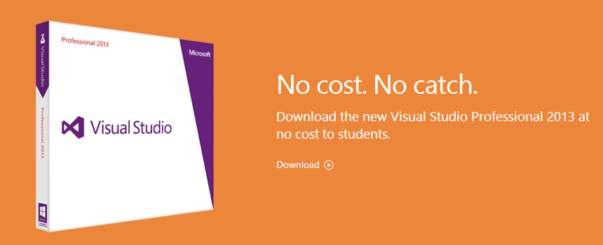 Visual Studio 2013 DreamSpark
