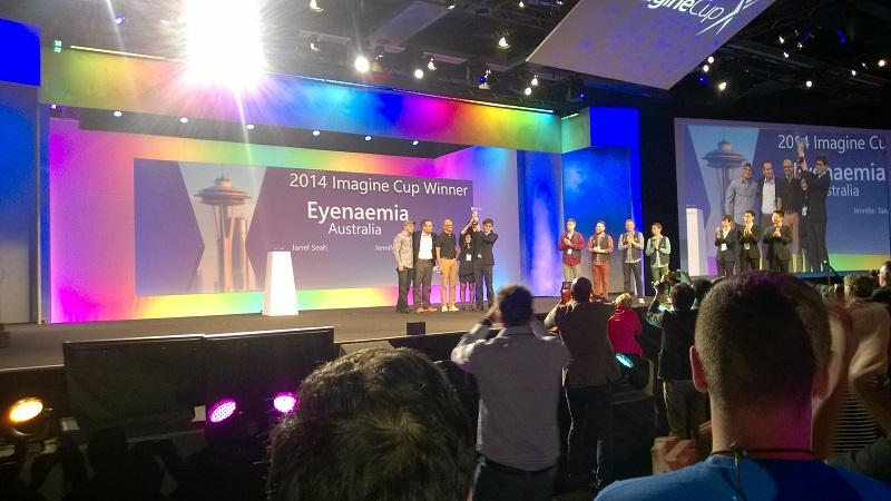 Imagine Cup Winners 2014